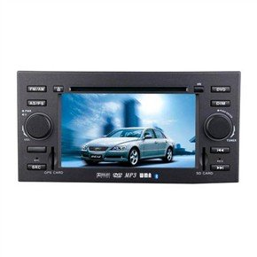 "6.5"" HD Digital Touch Screen 2 Din Car DVD Player with GPS for Toyota-REIZ"