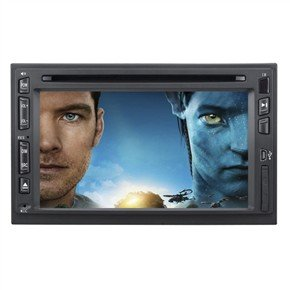 """DT-6203 6.2"""" 2 Din In-Dash Car DVD Player with GPS"""