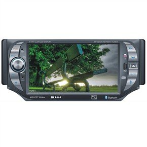 "DT-5002 5"" 1 Din In-Dash Car DVD Player with GPS"