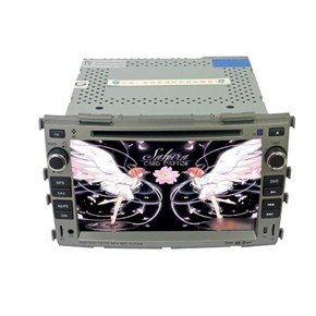 """7"""" HD Digital Touch Screen 2 Din Car DVD Player with GPS DVB-T for KIA Forte"""