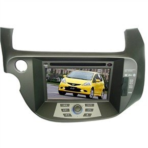 "7"" HD Digital Touch Screen 2 Din Car DVD Player with GPS DVB-T for Honda-Fit"