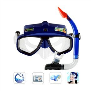 4GB Fantastic Underwater Scuba-diving Mask Camera Camcorder