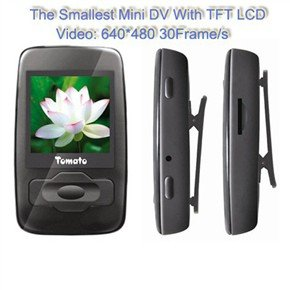 2GB Mini DVR 1.44-inch TFT LCD Screen Video Recorder with MP3 MP4