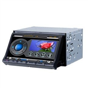 "7"" 2 Din In-Dash Multifunctional Car DVD Player With GPS DVB-T"