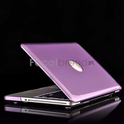Purple Crystal  hard Case Cover for  Macbook pro 13""