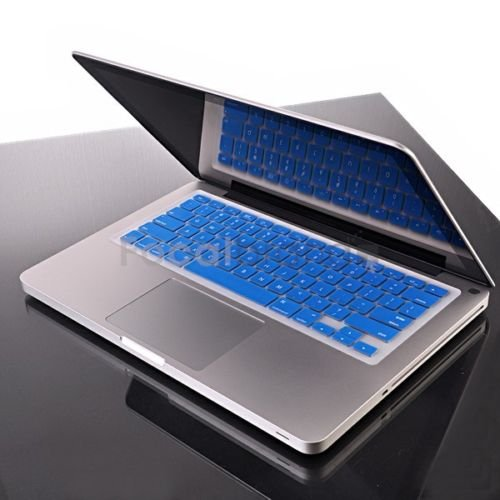 "Blue keyboard cover skin for macbook air 11.6"""