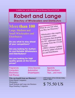 R & L Wholesale Directory