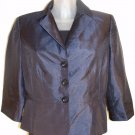 SILK SIGNATURE JACKET BY LARRY LEVINE