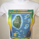 WOMEN ST. VINCENT & THE GRENADINES GRAPHIC-TEE (S) SLEEVE