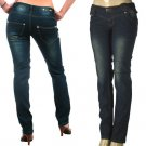 Peach Bottoms Ladies Faded Look Skinny Jeans-Single Pair-Size 1