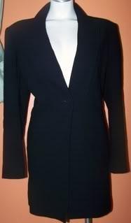 Talbots Ladies 12 Blazer Navy Blue Formal