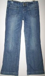 American Eagle Ladies 4R Jeans Blue Hip Huger