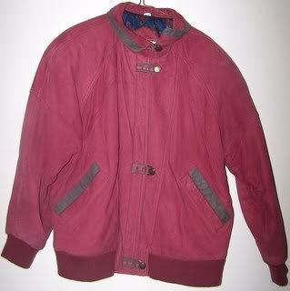 Preswick & Moore Mens S Jacket Genuine Leather Red