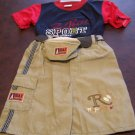 Ha Ha Boys Toddlers 3t Short Set size large NWOT