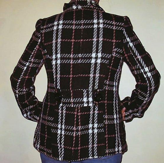 Plaid Pea Jacket