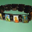 Religious Hematite Bracelet