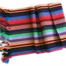 china yunan lijing cotton scarf in brilliant colors