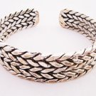 miao silver jewelry bracelet interesting double plaits