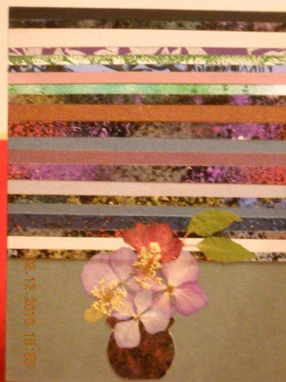 Paper Strips & Flowers