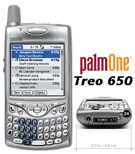 Treo 650 PDA GSM Cellular Phone (Unlocked)