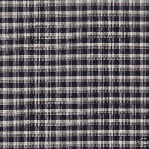 1 YARD  LONGABERGER J. W. MINI PLAID FABRIC ~ NEW