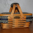 LONGABERGER 1999 HOMESTEAD WOVEN MEMORIES BASKET COMBO~ SIGNED