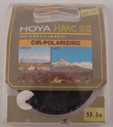 Hoya Cir-Polarizing Multi-coated 55mm Filter