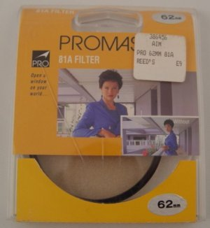 Promaster 81A  62mm Filter