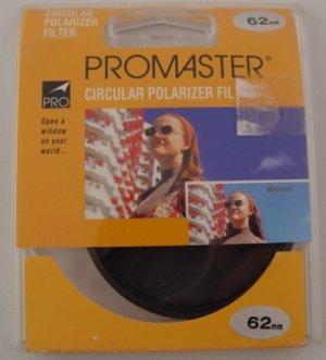 Promaster Circular Polarizer 62mm Filter