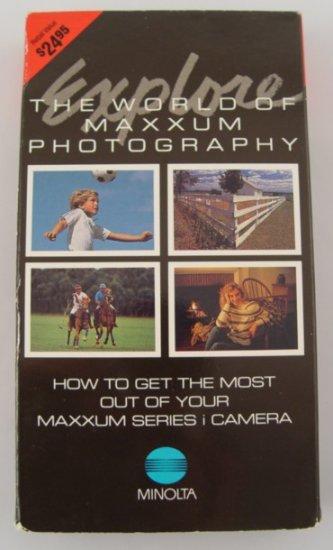 Explore the World of Minolta Maxxum Photography VHS