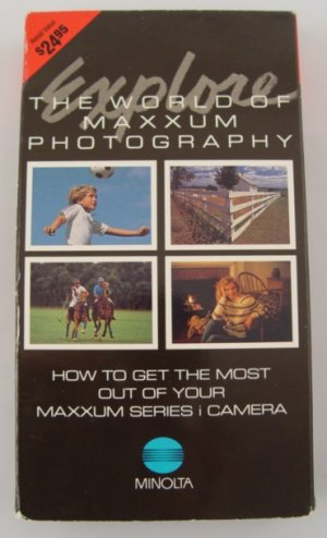 Explore the World of Minolta Maxxum Photography VHS