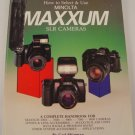 How to Select & Use Minolta Maxxum SLR Cameras Handbook