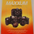 How to Select & Use Minolta Maxxum SLR Cameras Handbook