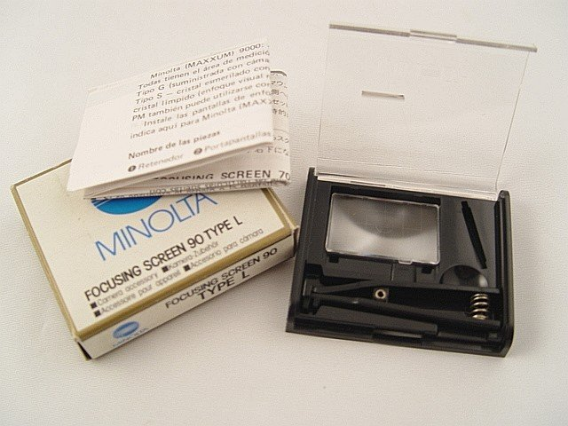 Minolta Focusing Screen 90  Type L for Maxxum 9000