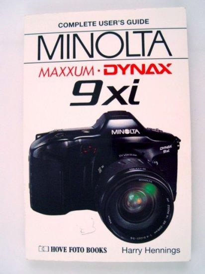 Hove Foto Complete Users Guide for Minolta Maxxum 9xi