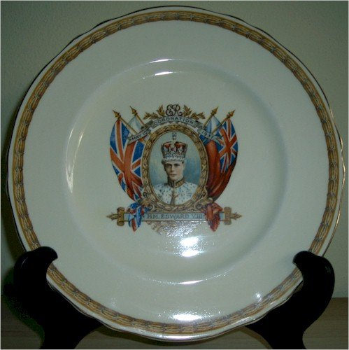 Edward VIII Commemorative Coronation Plate