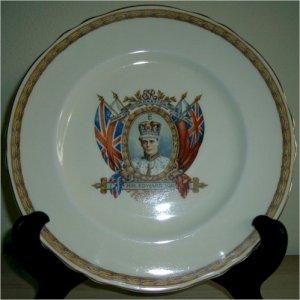 Edward VIII Commemorative Coronation Plate
