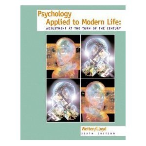 Psychology Applied to Modern Life: Adjustment at the Turn of the Century