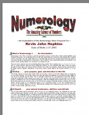Amazing Numerology - The secret Story of Numbers