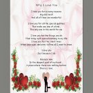 Personalized Inspirational Saying Poems, Verses