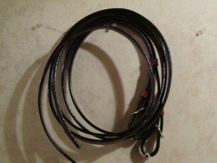 Leather Reins - Latigo Ties - Approx. 7'