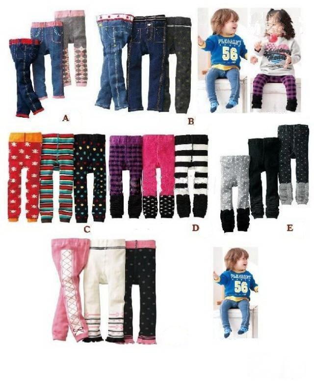 NISSEN baby Leggings tights pants Baby leg warmer boys' girls Pants children's legging A