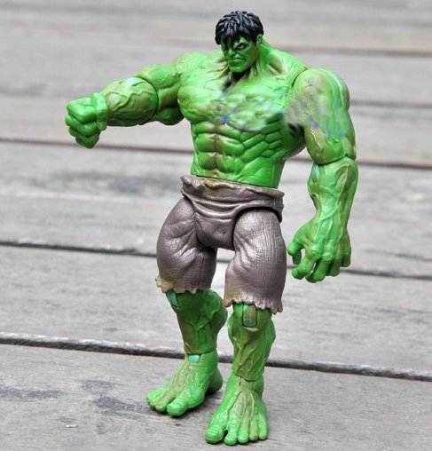 HUGE INCREDIBLE GREEN HULK Cartoon collection Figure