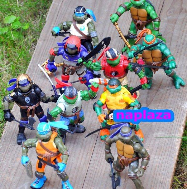 10 pcs Teenage Mutant Ninja Turtles