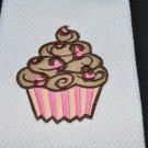 """Leopard Print"" Cupcake Kitchen Dishtowel"