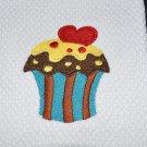 """Chocolate Lovers"" Cupcake Kitchen Dishtowel"