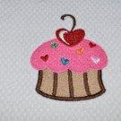 """""""Love & Sprinkles"""" Cupcake Kitchen Dishtowel"""