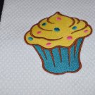 """Candy"" Cupcake Kitchen Dishtowel"