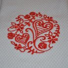 """Simply Sweethearts"" Valentines Day Kitchen Dishtowel"