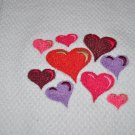 """Hearts A Plenty"" Valentines Day Kitchen Dishtowel"
